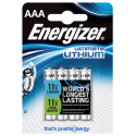 Energizer Lithium AAA x4 Batteries