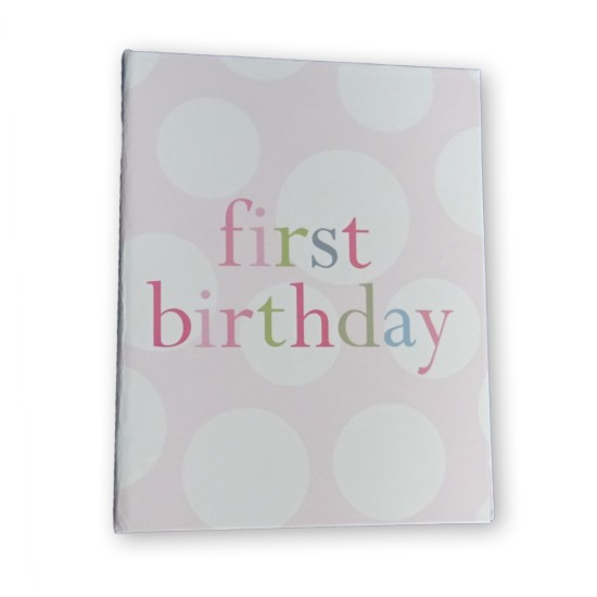 First Birthday pink album 36 6