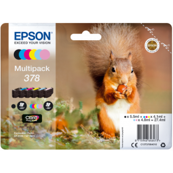 Epson Squirrel Multipack 378