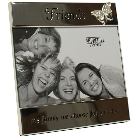 Friends Butterfly Silver 4x6