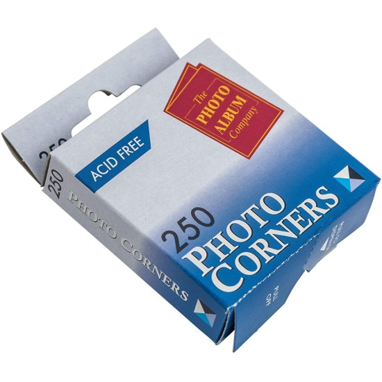Transparent Photo Corners 250 Pack