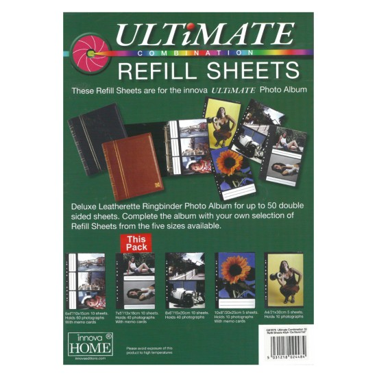 Ultimate Refill Sheets 7